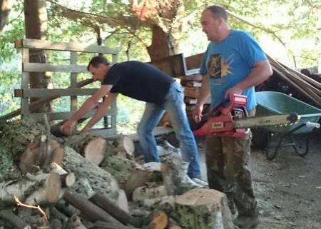 Il taglio della legna a Casa Giorgini (9)
